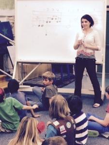 Whitney Shay at John Muir school